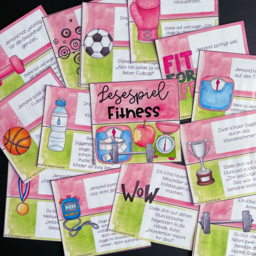 Reading game - fitness