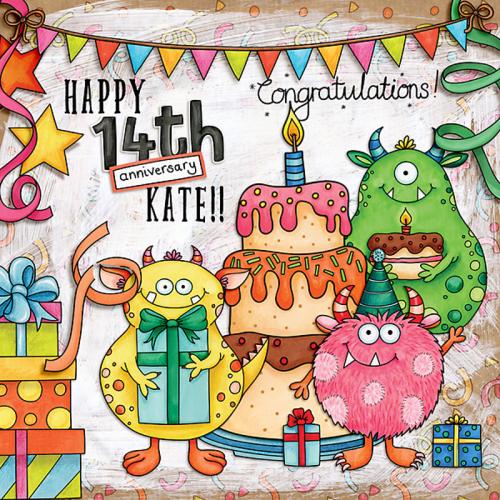 Happy 14th Anniversary Kate!