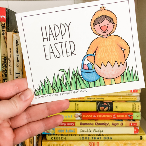 Easter and spring cards