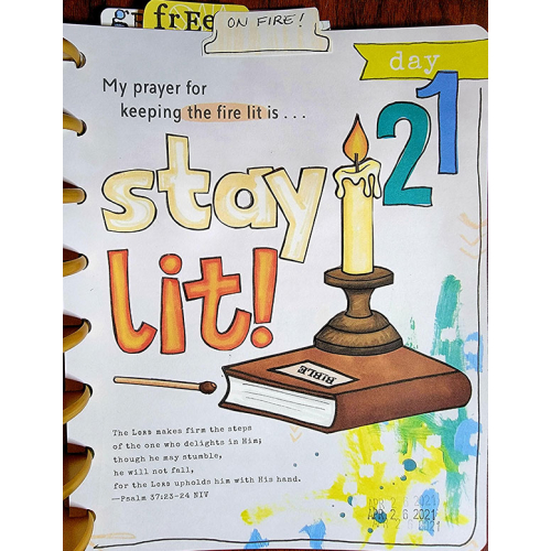 Day 21 - Stay Lit!