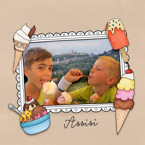 Ice Cream tastes better in Italy.