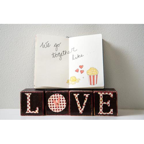Bujo: Valentines