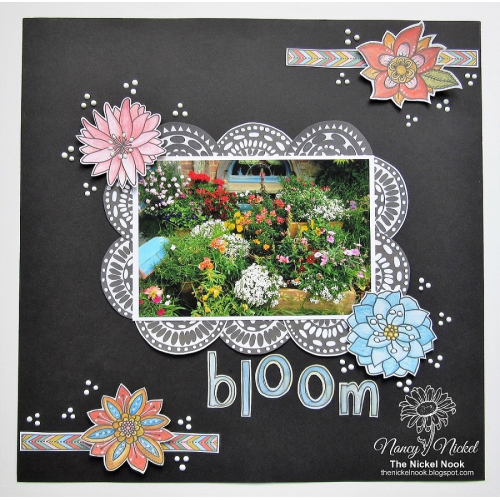 BLOOM Layout