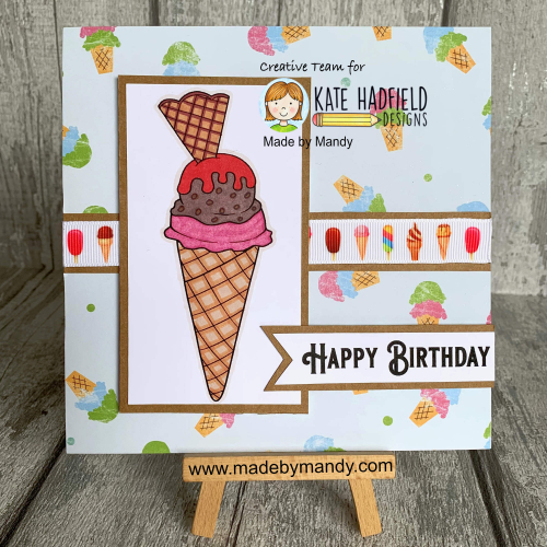 We All Scream For Ice Cream Stamps
