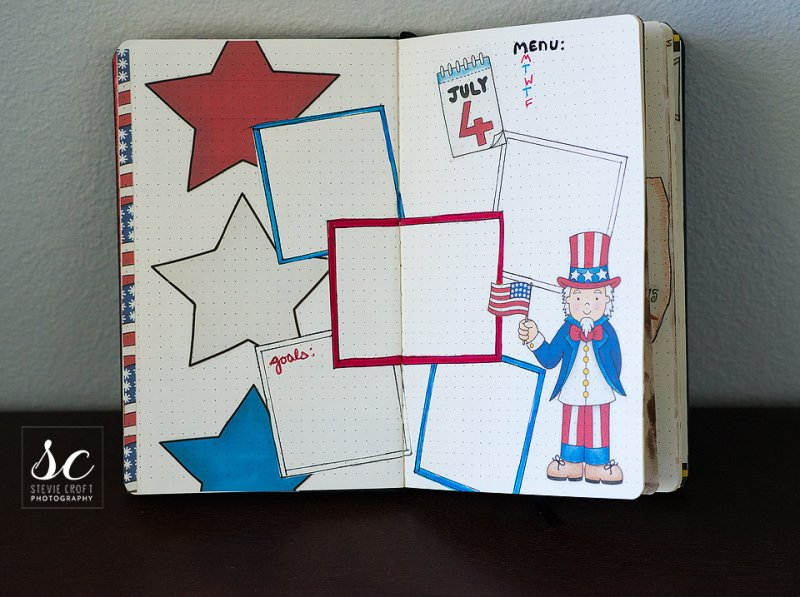 Star Spangled by Kate HadfieldStars and Stripes Template for Kate Hadfield's blog challenge