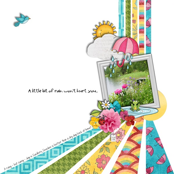 Springity Spring by Kate Hadfield & Kim JensenScrap Like Dagi template freebie by Kate Hadfield
