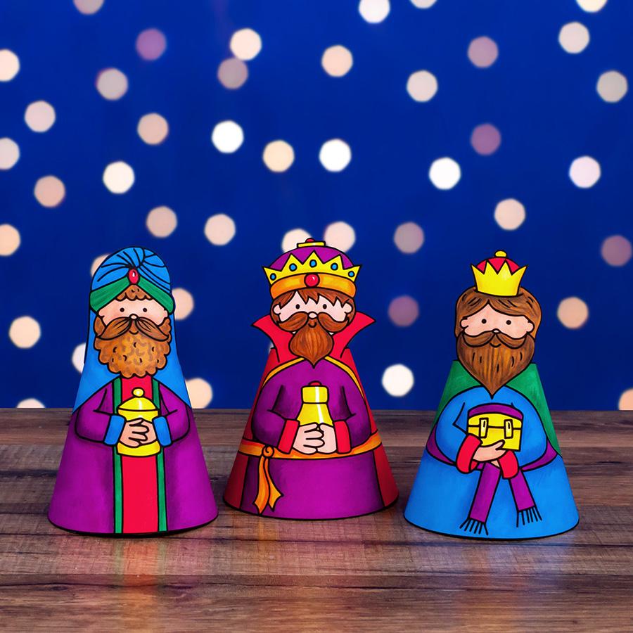 wise men nativity craft