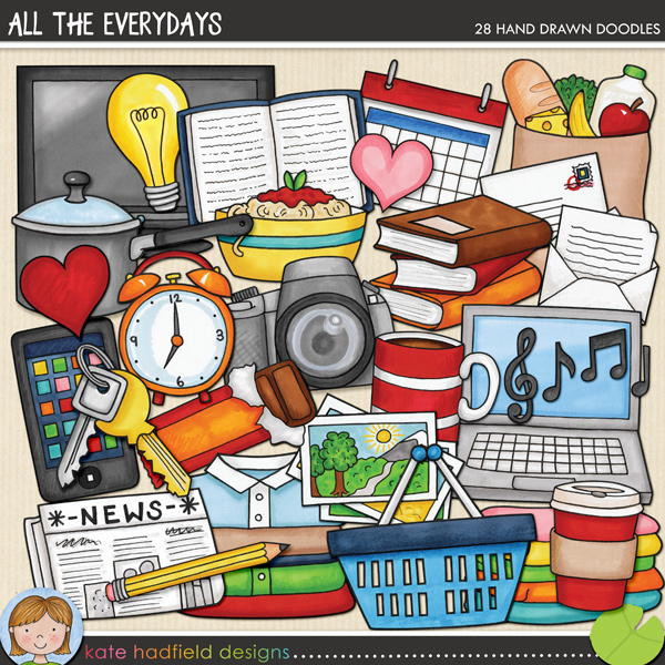 All the Everydays by Kate Hadfield