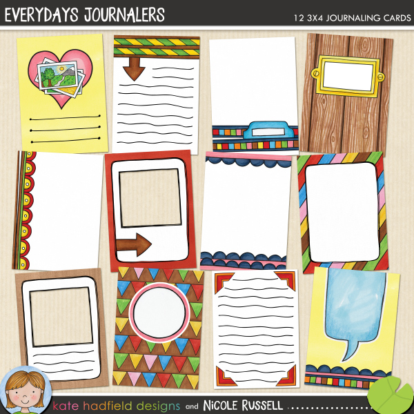 Everydays Journalers by Kate Hadfield and Nicole Russell