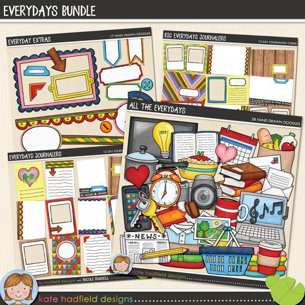 Everydays Bundle by Kate Hadfield