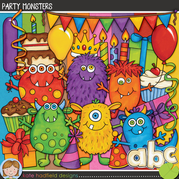 Party Monsters by Kate Hadfield