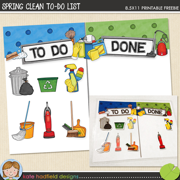 Spring Clean To Do List