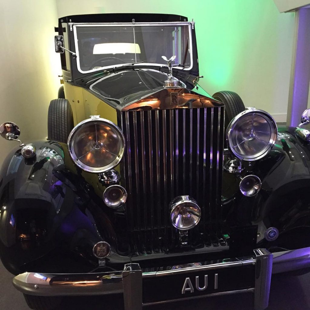 Goldfinger car! Really enjoying this exhibition so many memories fromhellip