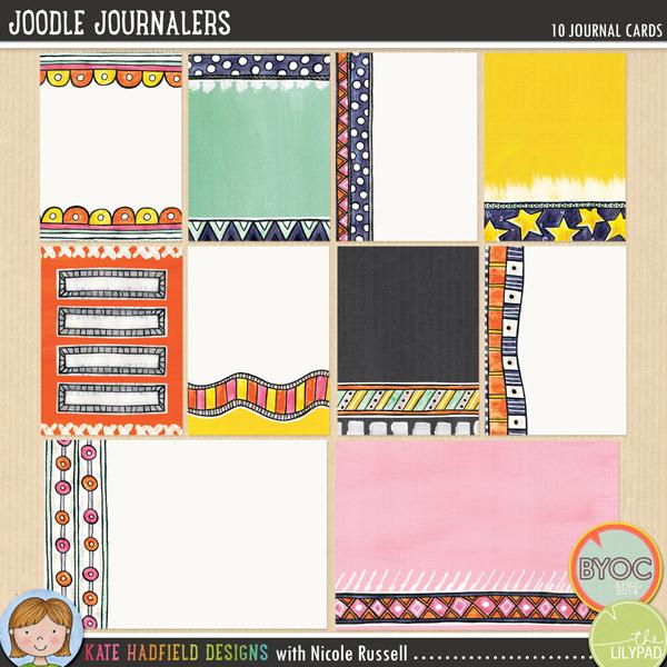 Joodle Journalers by Kate Hadfield