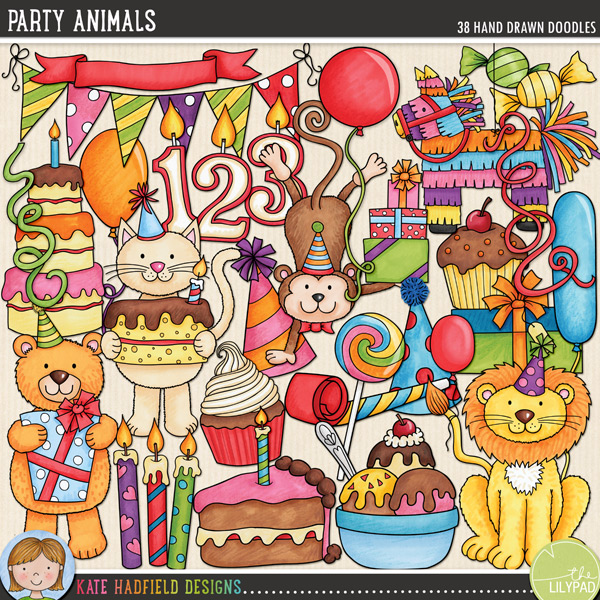 Party Animals by Kate Hadfield