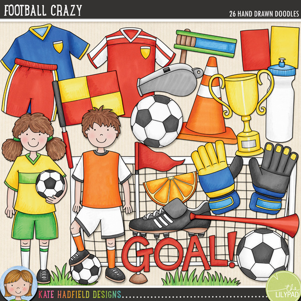 Kate Hadfield Designs Football Crazy