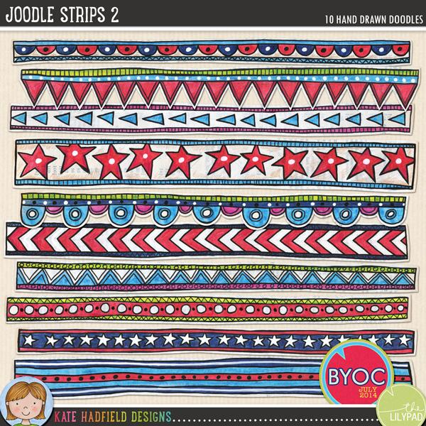 Kate Hadfield Joodle Strips 2
