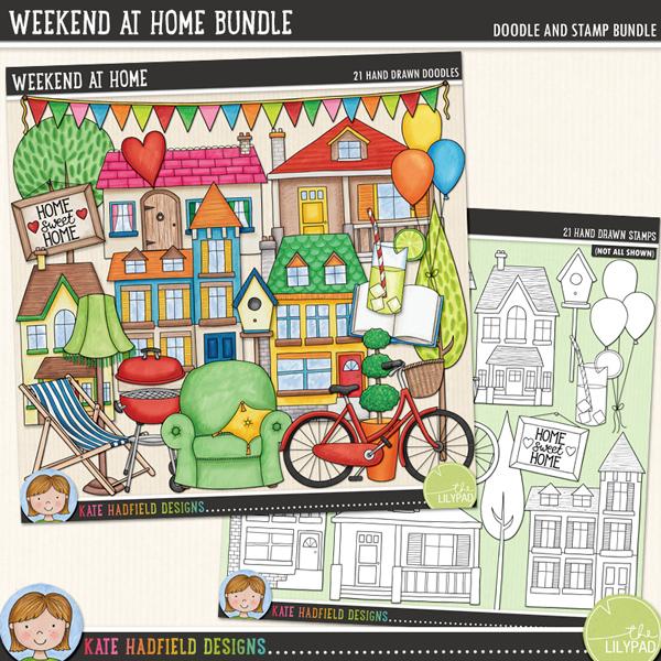 Weekend at Home BUNDLE by Kate Hadfield
