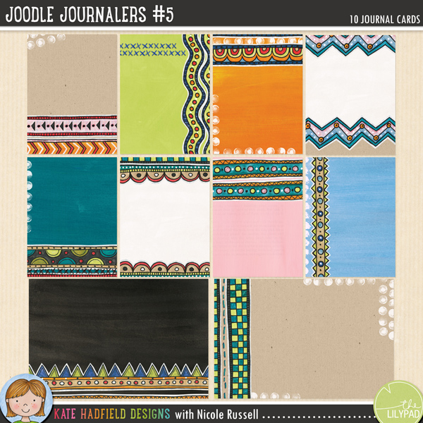 Joodle Journalers 5 by Kate Hadfield and Nicole Russell