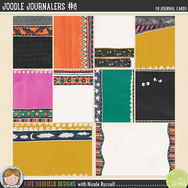 Joodle Journalers 6 by Kate Hadfield and Nicole Russell
