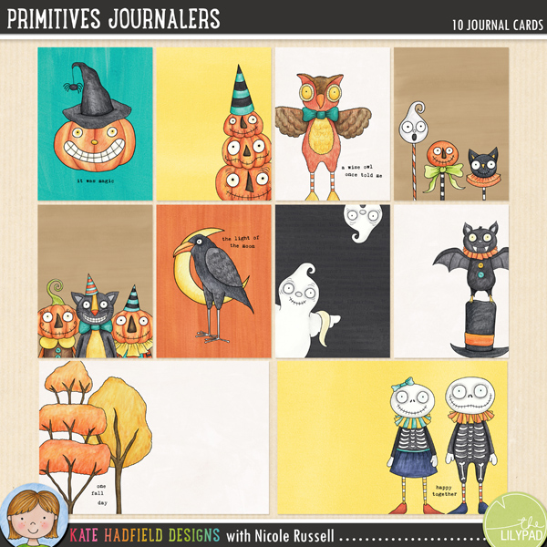 Primitives Journalers by Kate Hadfield