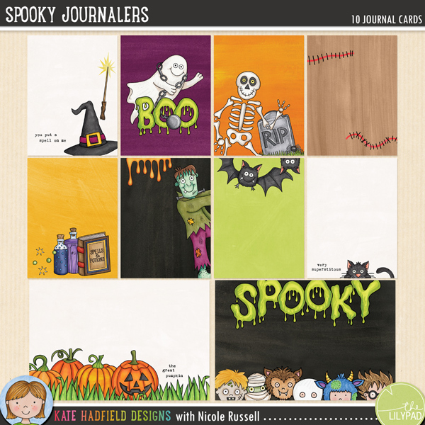 Spooky Journalers by Kate Hadfield