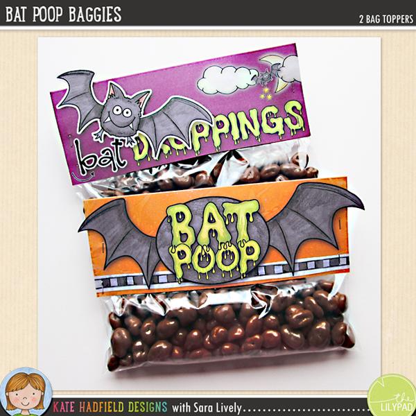Bat Poop Baggies by Kate Hadfield