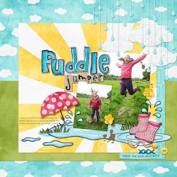 Puddle Jumper layout by Kate Hadfield