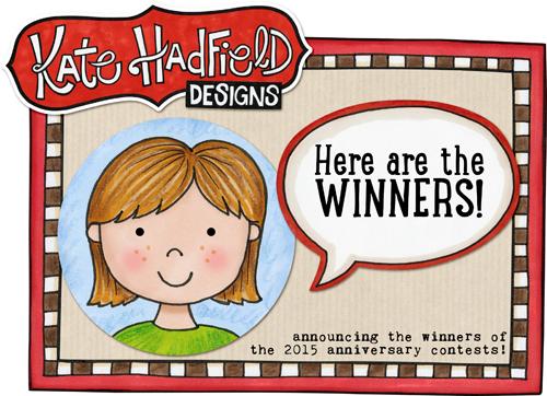 Kate Hadfield Designs Winners 2015