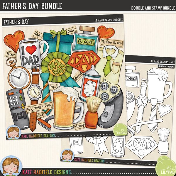 Father's Day Bundle by Kate Hadfield Designs