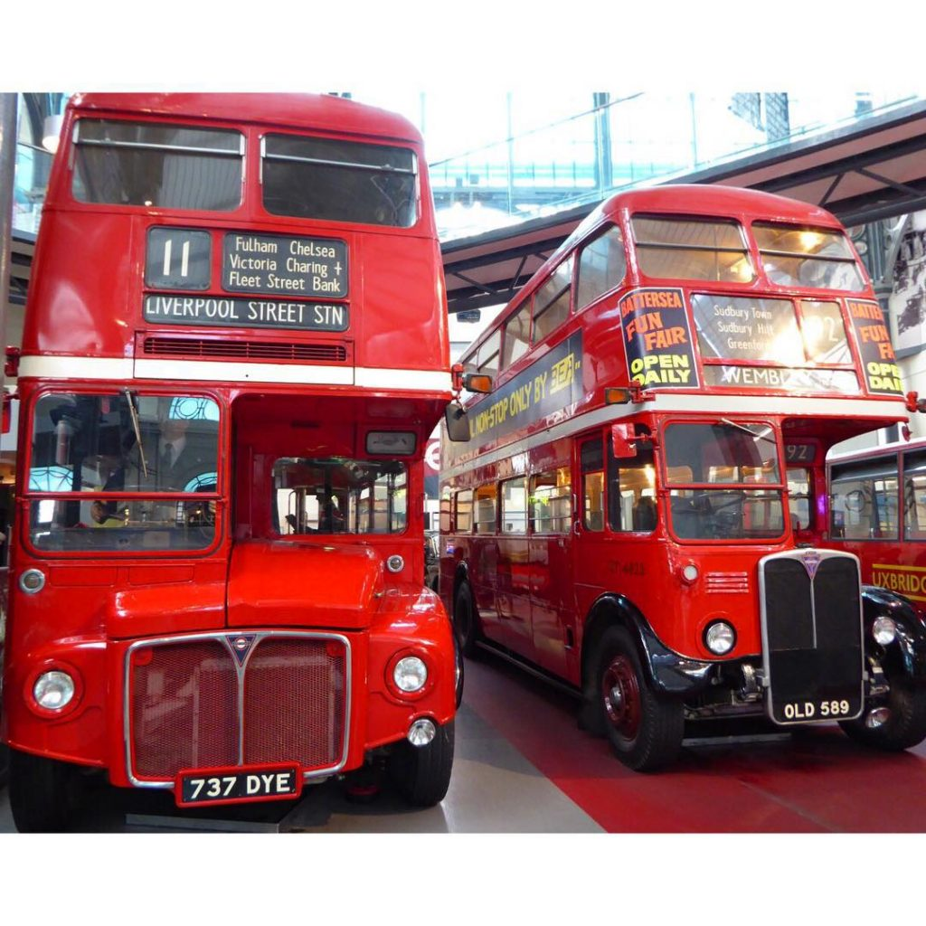 We spent a fab afternoon at the London Transport Museumhellip