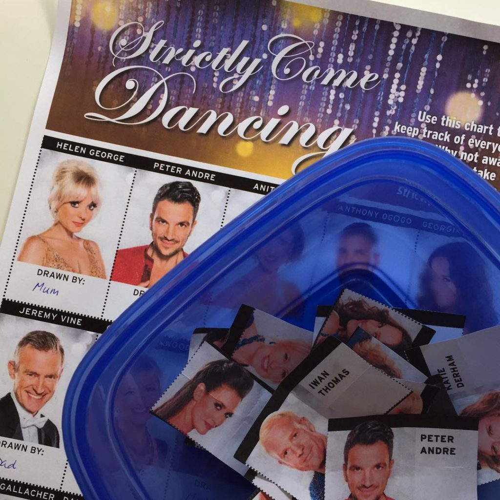 Strictly Come Dancing family sweepstake  bring it on!! DDhellip