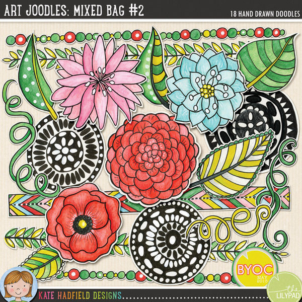 Art Joodles Mixed Bag #2 - Kate Hadfield