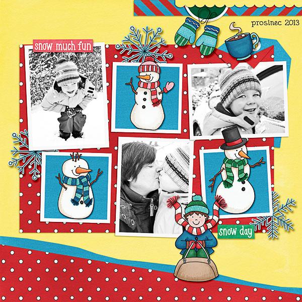Kate Hadfield Designs Creative Team winter favourites: layout by Dagi