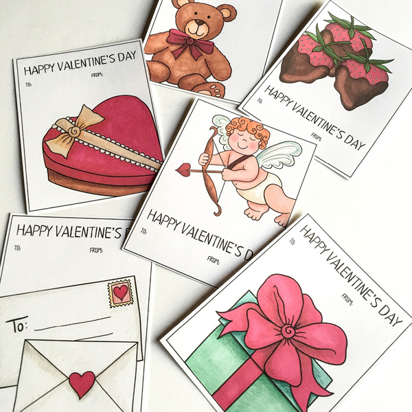 Kate Hadfield Designs Teacher Team inspiration   Everything Just So ~ valentines cards and treat bags