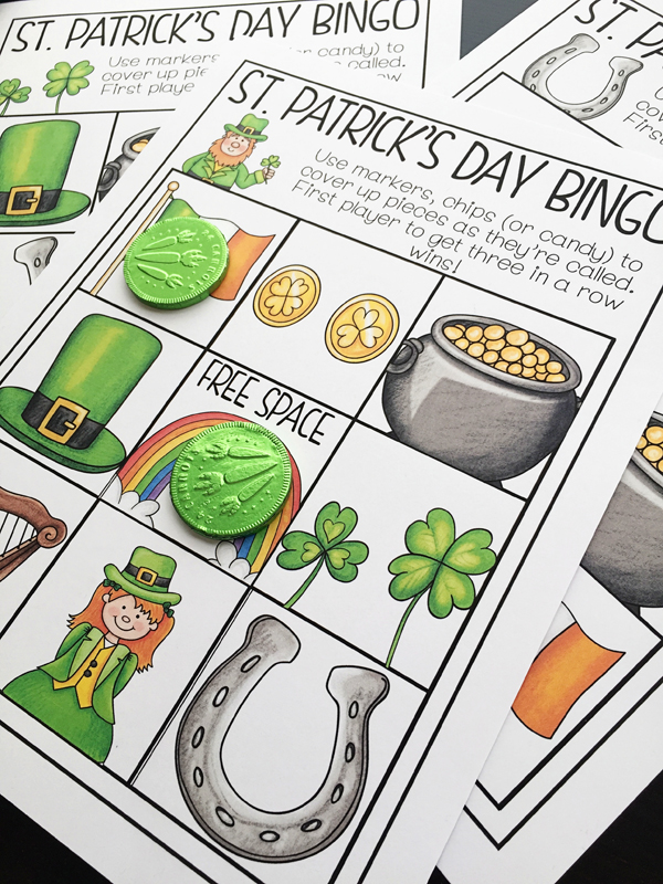 St Patrick's Day Bingo by by Primary Punch