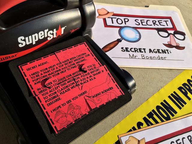 Spy Headquarters interactive classroom by Male Kindergarten Teacher