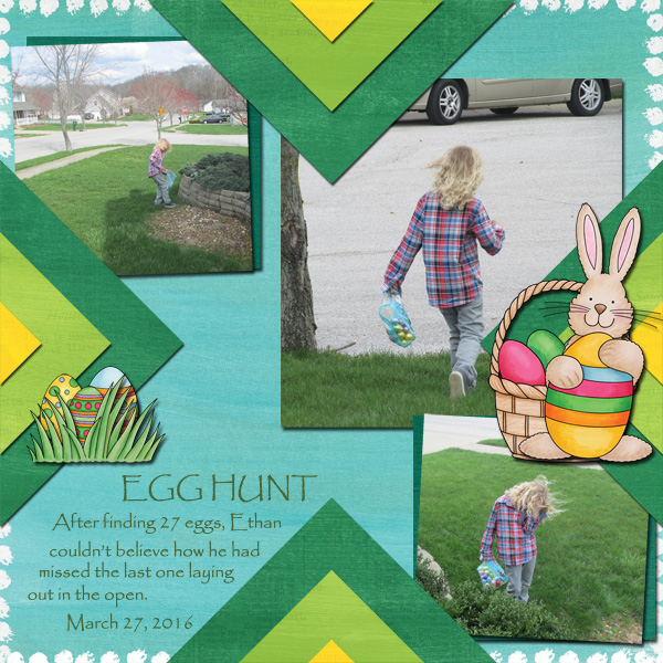 "Kate Hadfield Designs creative team layout: ""Scrap Like Olga"" *FREE* template! Layout by Jenni"