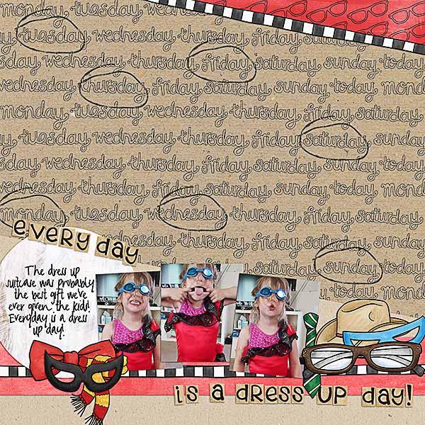 "Kate Hadfield Designs creative team layout: ""Scrap Like Rebecca"" *FREE* digital scrapbooking template! Layout by Kristina"