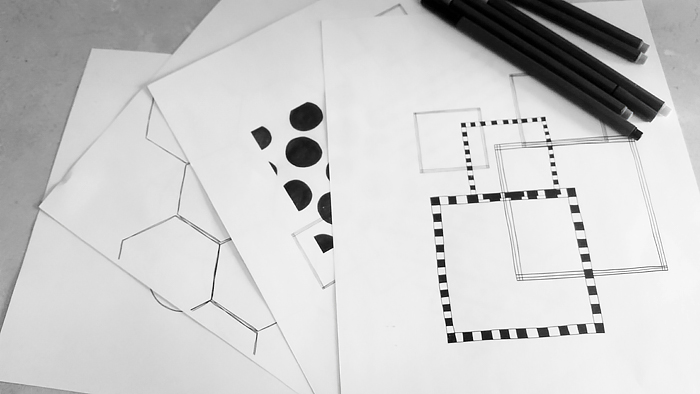 image relating to Free Printable Zentangle Worksheets identify Zentangle Rookie Sheets - Kate Hadfield Ideas