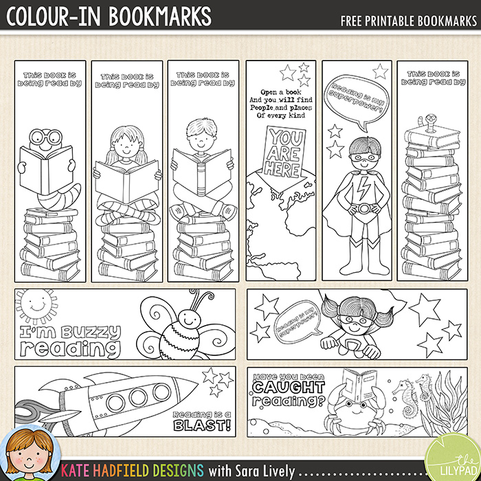 bookmakr colouring craft for kids