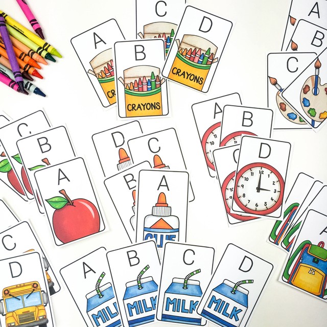 Back to School clip art in action ~ Kate Hadfield Designs