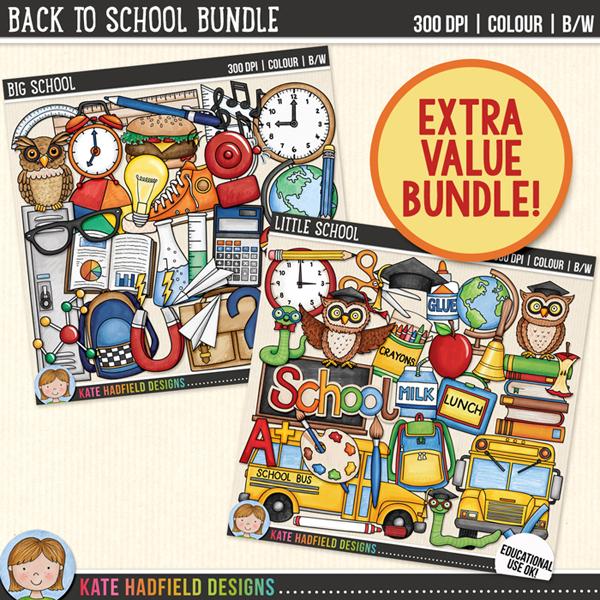 Kate Hadfield Designs ~ Back to School Bundle