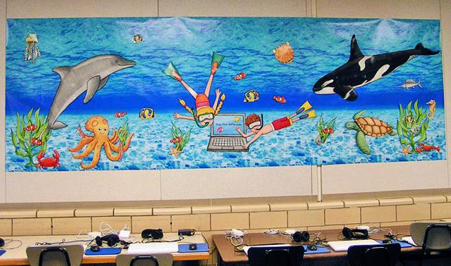 Under the Sea classroom display ~ Kate Hadfield Designs