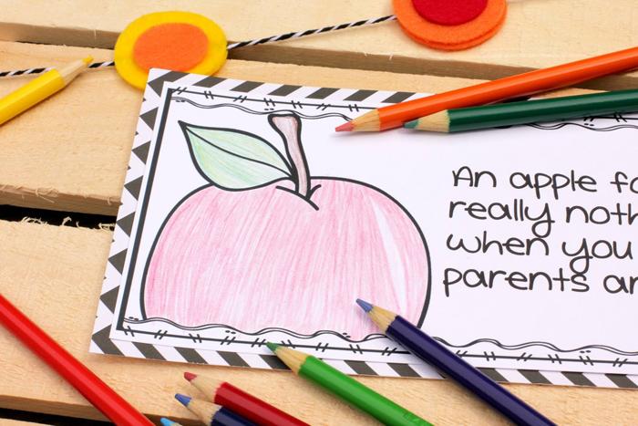 Male Kindergarten Teacher: Back to school parent appreciation gift #katehadfielddesigns