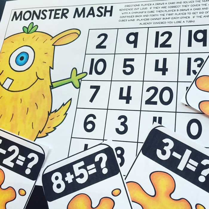 Maths centres activities from Primary Punch || #katehadfielddesigns