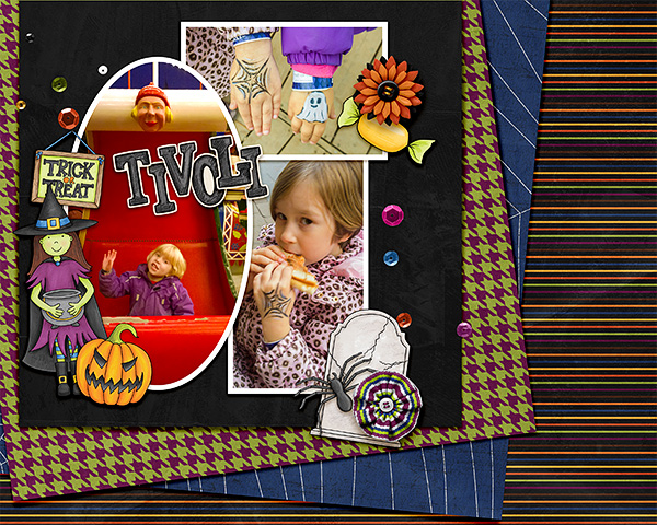 """Kate Hadfield Designs Creative Team inspiration: """"Halloween Favourites"""" 