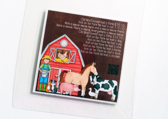 Hybrid Project: songs mini-book gift | #katehadfielddesigns