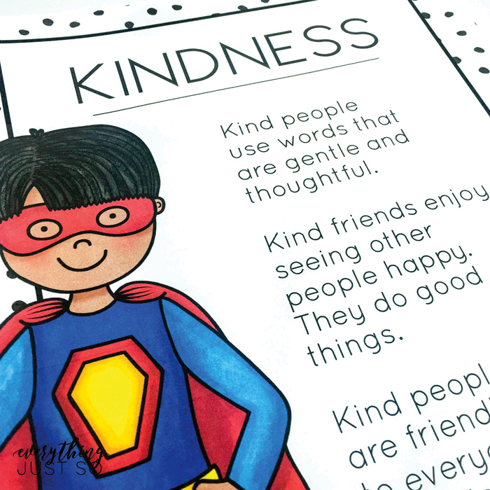 Superhero Friends poster set - created by Everything Just So | illustrations from Kate Hadfield Designs