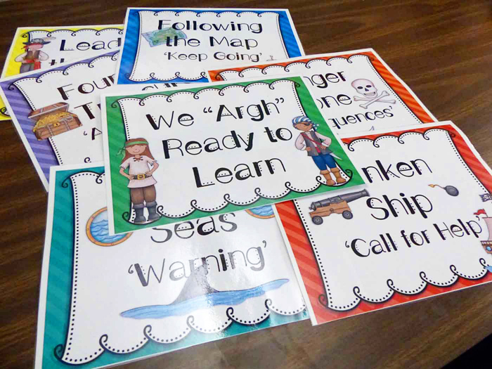 "We ""Argh"" Ready to Learn by Smart 2 Heart Creations 